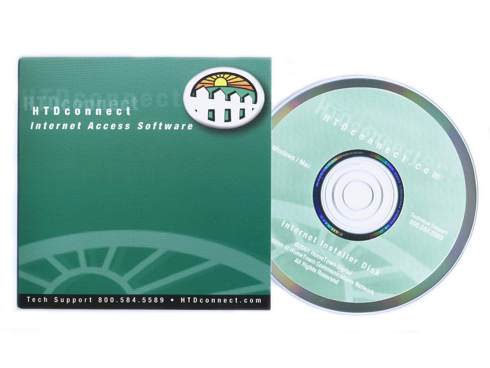 HTD connect CD and cover