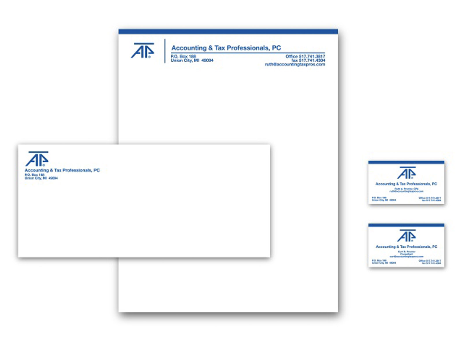 Accounting Tax Pros Stationery
