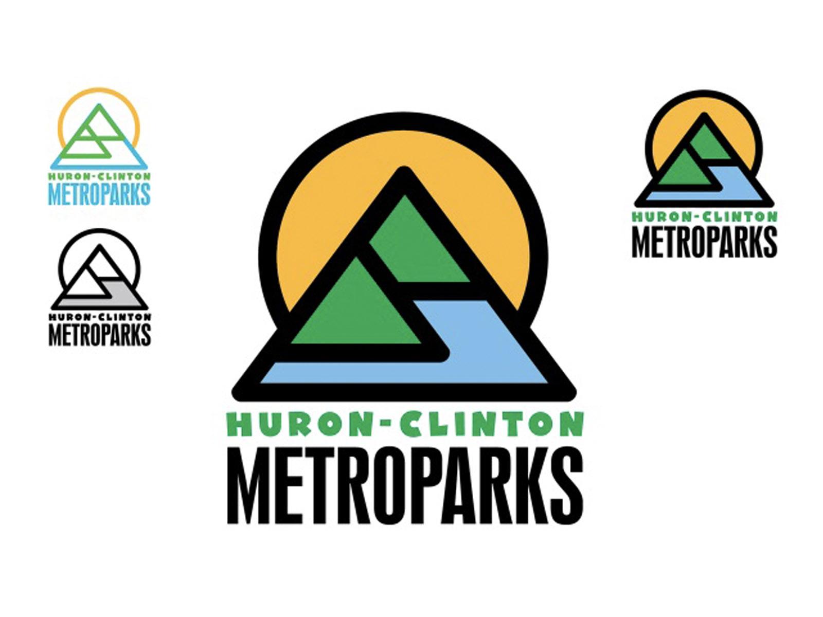Huron-Clinton Metroparks Logo Designs