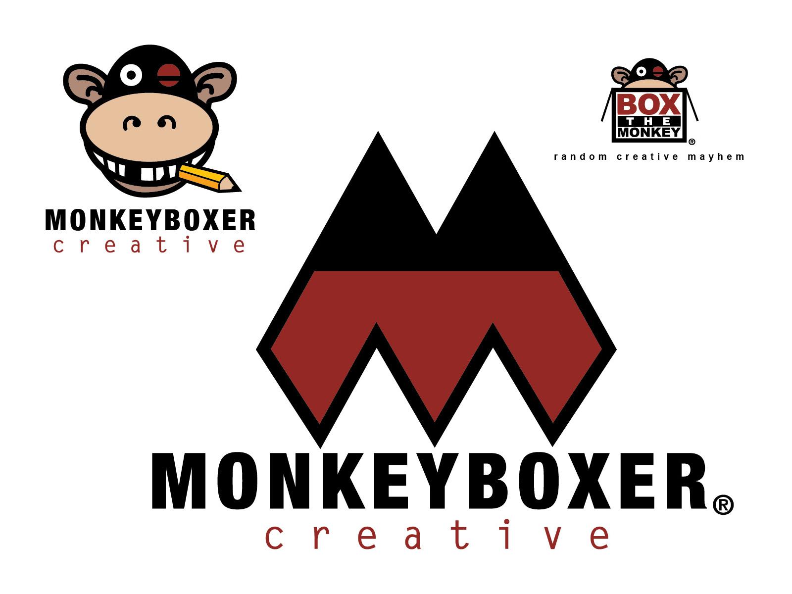 Monkeyboxer Creative Logos