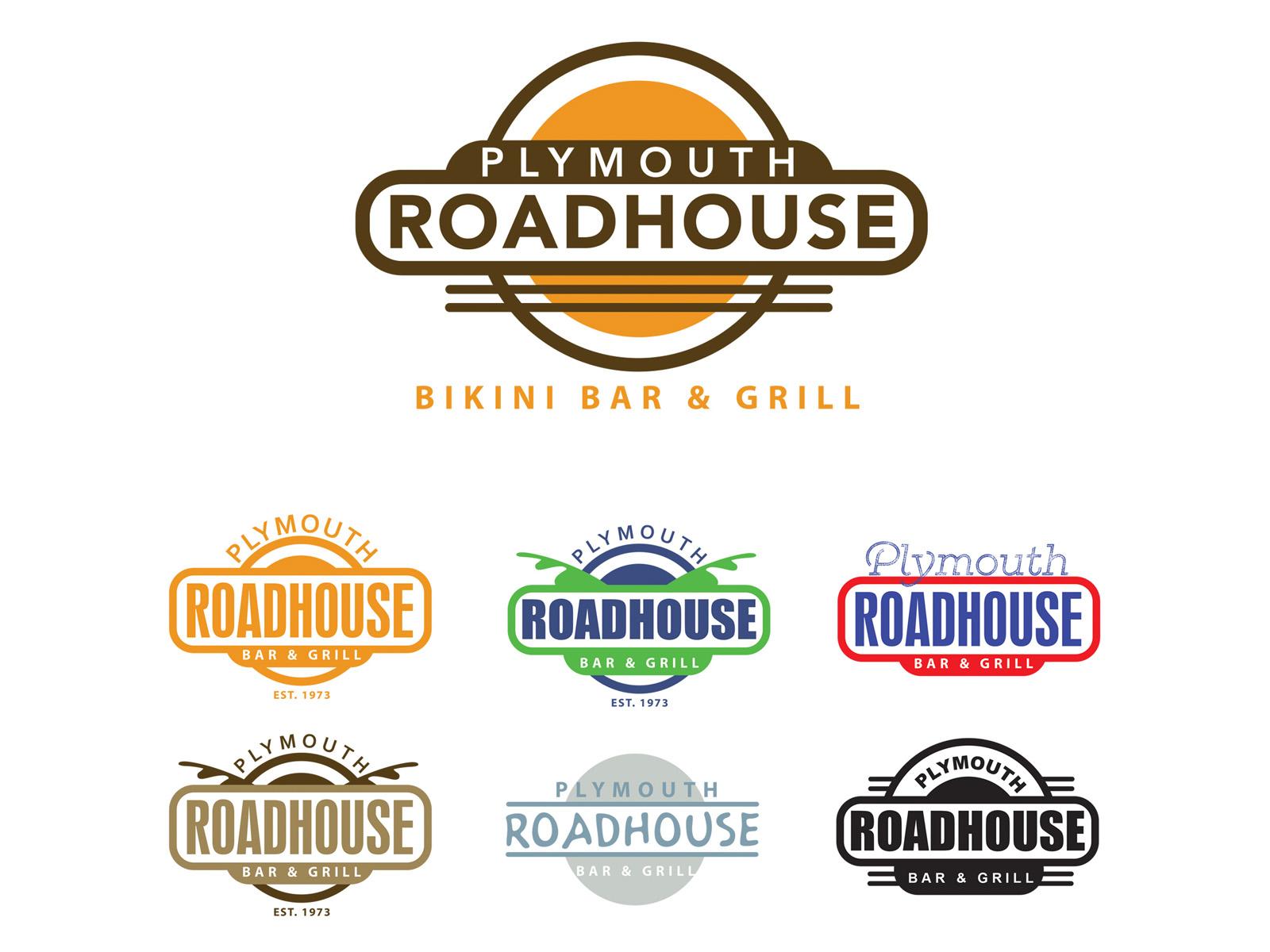 Plymouth Roadhouse Logos