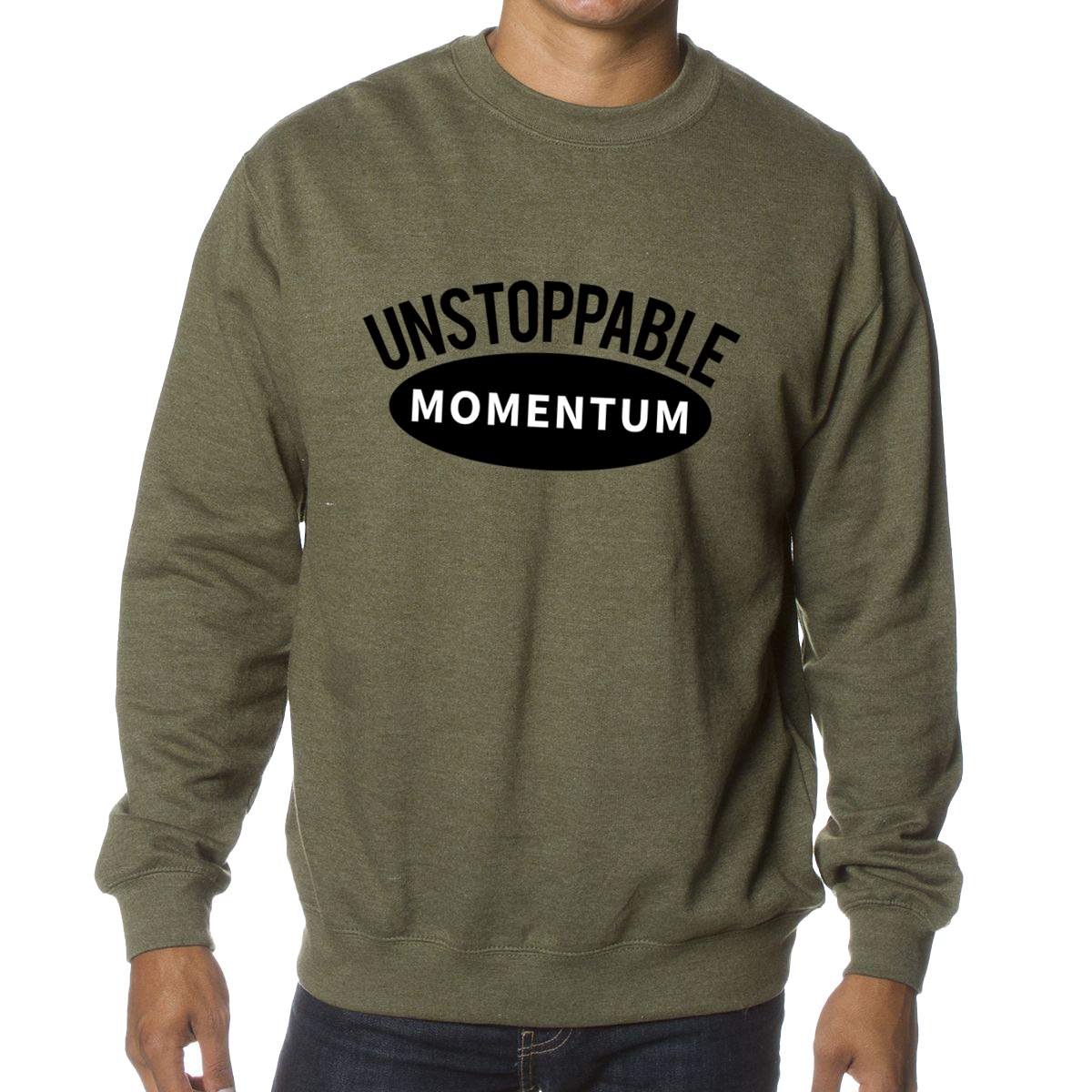 AI-HIPR-SS3000-independenttradingcompanymensmidweightcrewnecksweatshirt-APP#unstoppablemomentum-2color