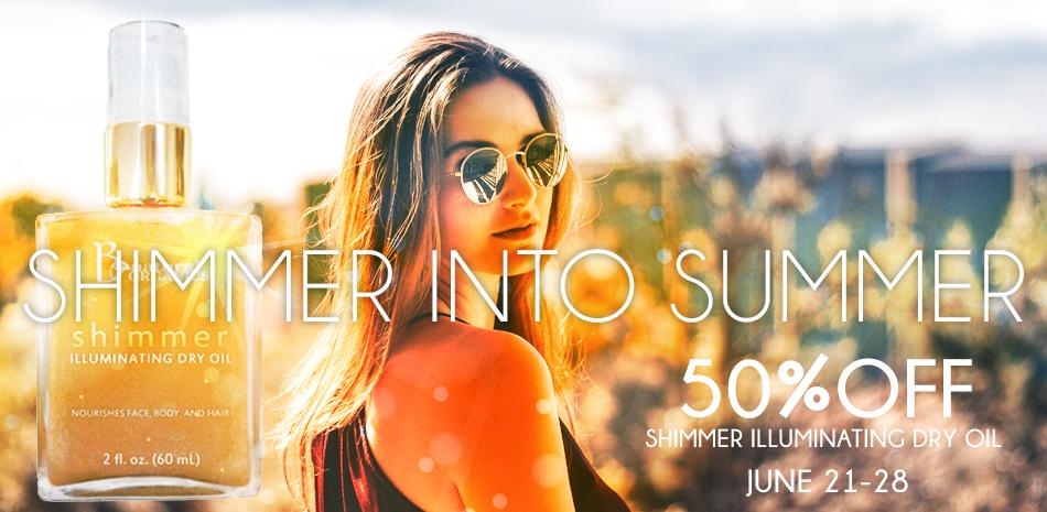 SHIMMER into summer slider