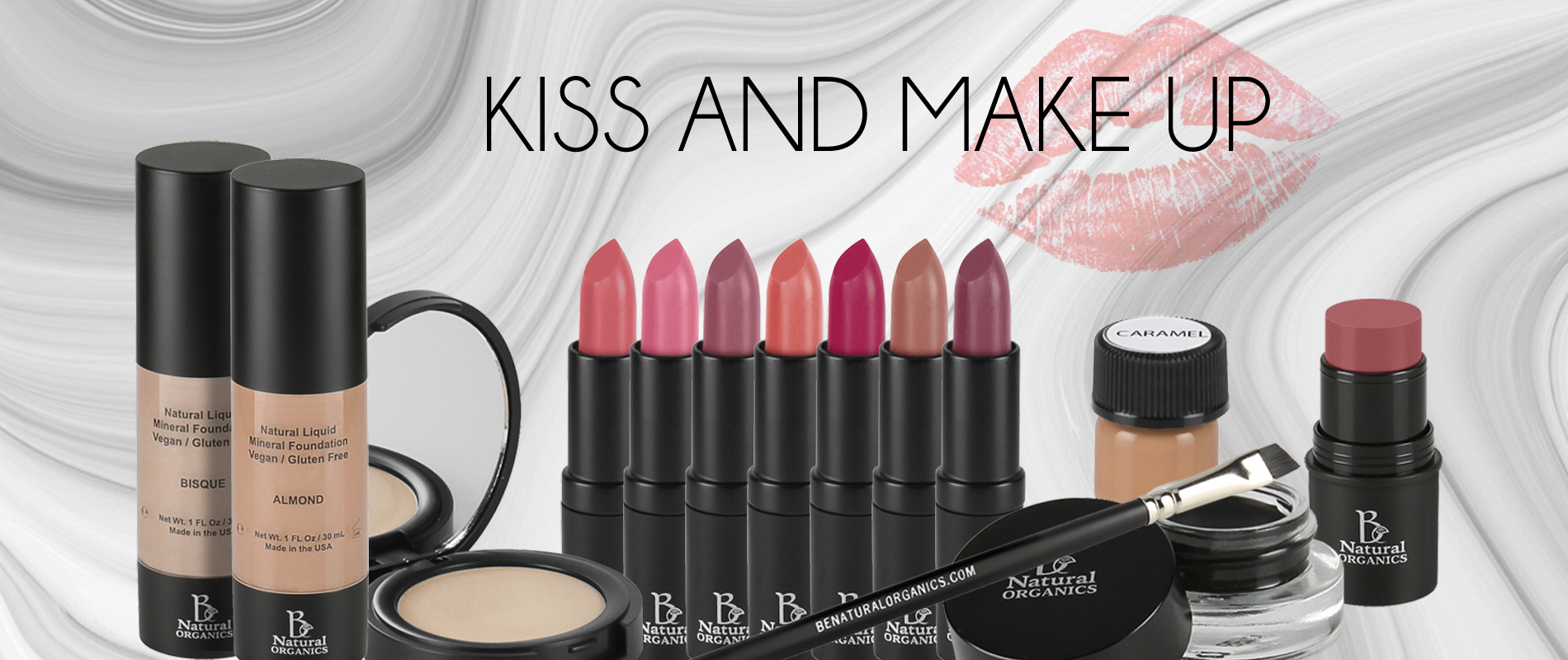 KISS AND MAKE UP 25%OFF slider 1900x800